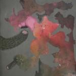 Alicja Wieczorek_Życie intymne roślin_tech mieszana na płótnie_60x39,5cm_2014